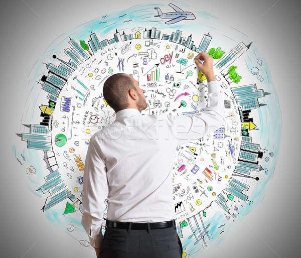 Business Concepts Stock photo © alphaspirit