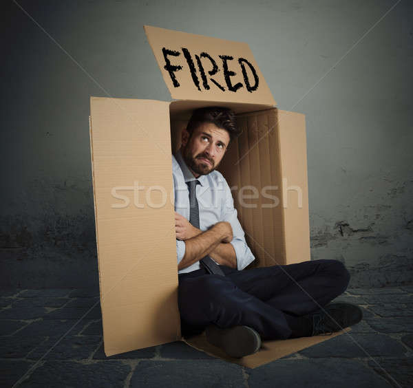 Foto d'archivio: Imprenditore · disperato · business · lavoratore · lavoro · stress