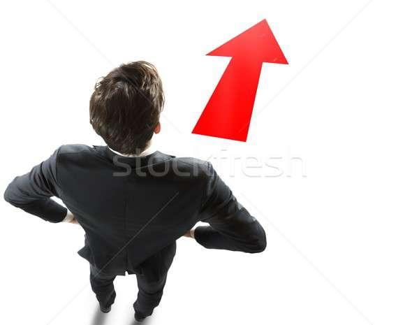 Follow right direction Stock photo © alphaspirit