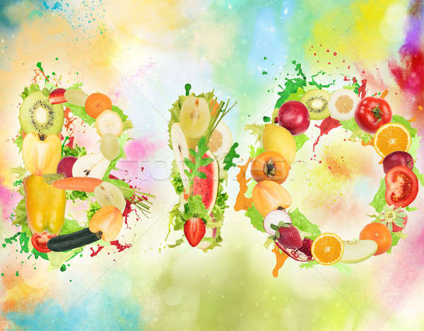 Healthy Bio food for wellness Stock photo © alphaspirit