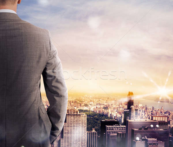 Vision of business success Stock photo © alphaspirit