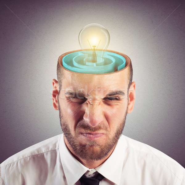 Resolution of mind labyrinth Stock photo © alphaspirit
