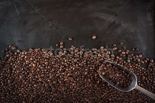 Background coffee beans Stock photo © alphaspirit