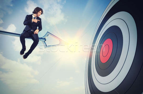 Businessman's skill Stock photo © alphaspirit