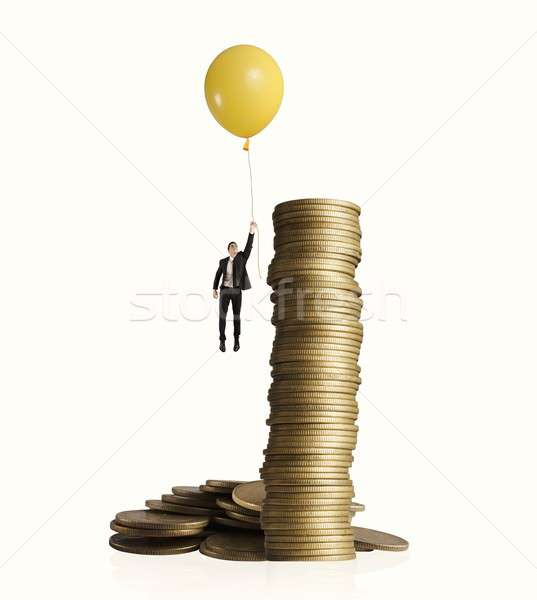 Earning money Stock photo © alphaspirit