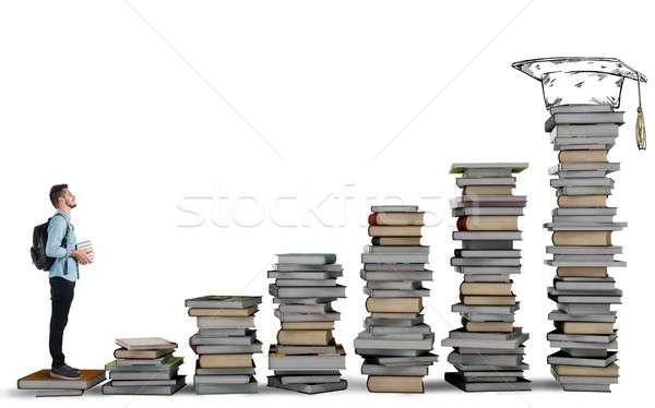 Degree course Stock photo © alphaspirit