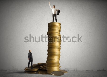 Growth exponential gain Stock photo © alphaspirit