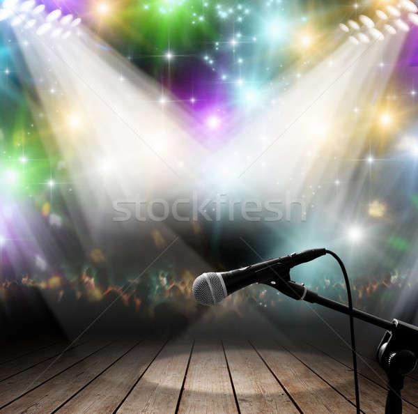 Music concert Stock photo © alphaspirit