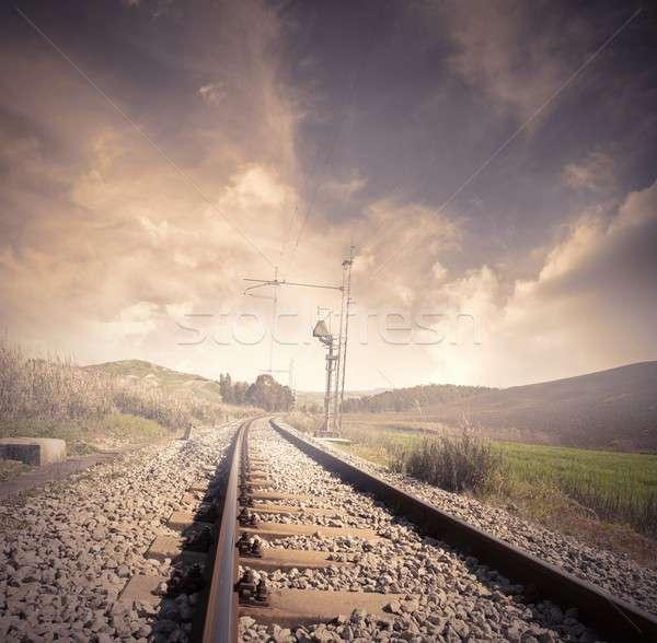 Railroad Stock photo © alphaspirit