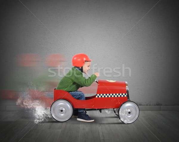Car toy Stock photo © alphaspirit