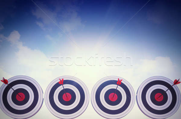 Achieve the objectives Stock photo © alphaspirit