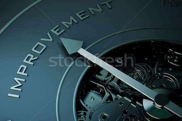 3D Rendering of future improvement Stock photo © alphaspirit
