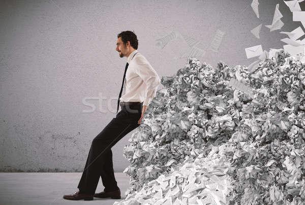 Overwork and spam Stock photo © alphaspirit