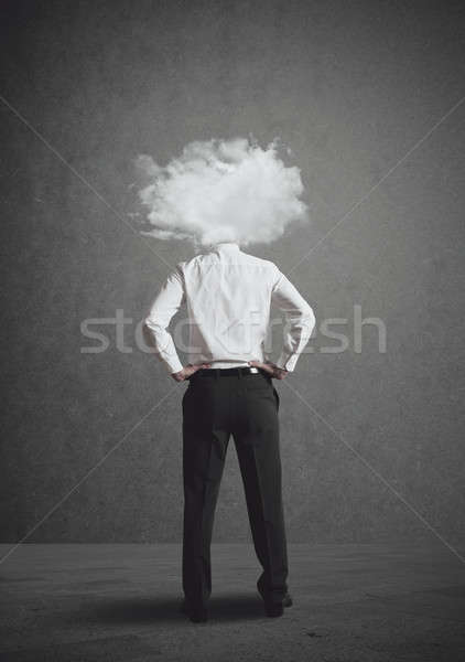 Head in the clouds Stock photo © alphaspirit