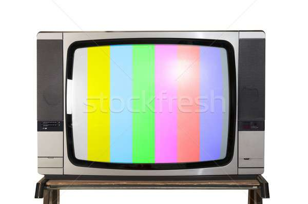 Retro tv Stock photo © alphaspirit