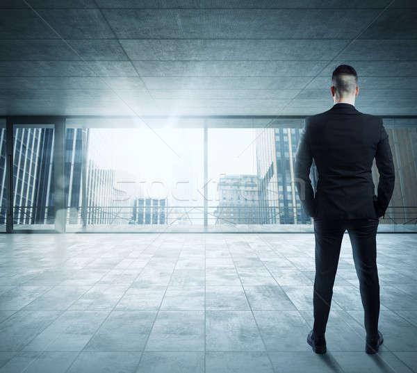 Successful businessman Stock photo © alphaspirit