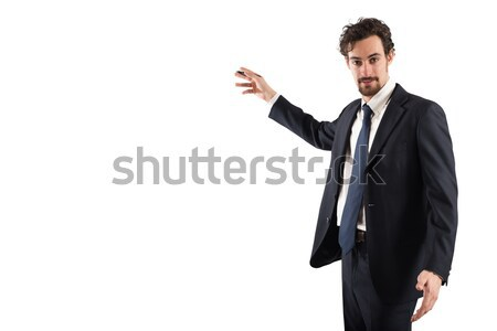 Business explanation Stock photo © alphaspirit