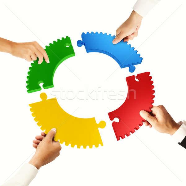 拼图碎片 商业照片和矢量图