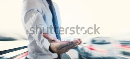 Insurance and safety car Stock photo © alphaspirit