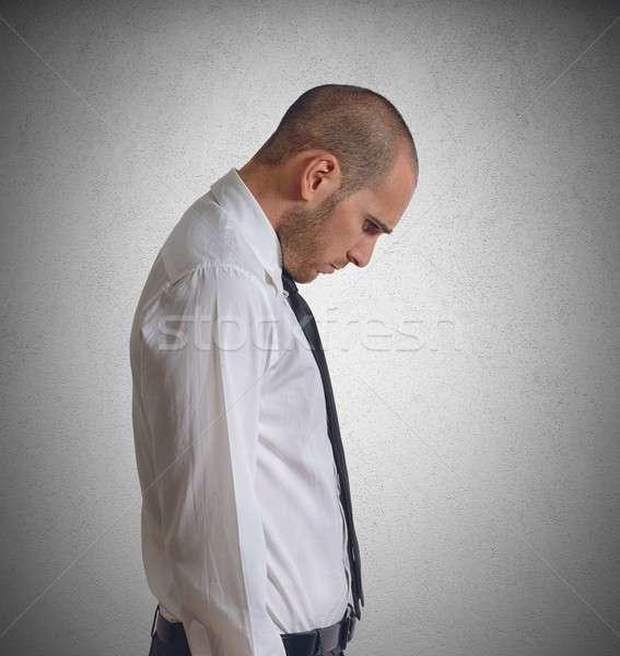 Discouraged businessman Stock photo © alphaspirit