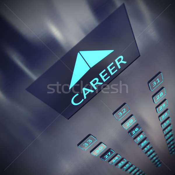 Career elevator Stock photo © alphaspirit