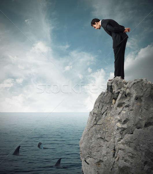 Assess the risk in a deal business Stock photo © alphaspirit