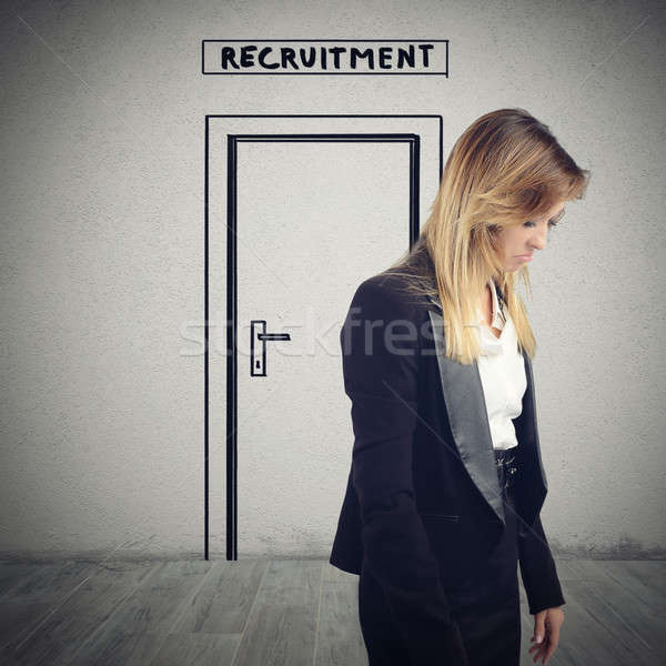 Recruitment for a workplace Stock photo © alphaspirit