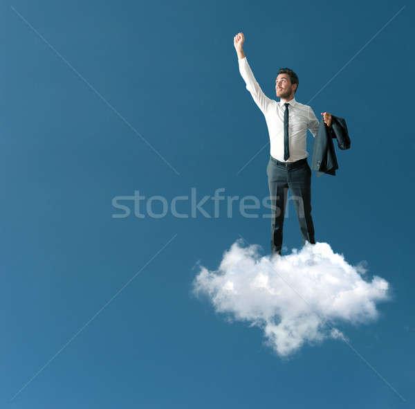 Success of a businessman Stock photo © alphaspirit