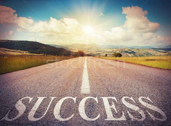 Success road Stock photo © alphaspirit