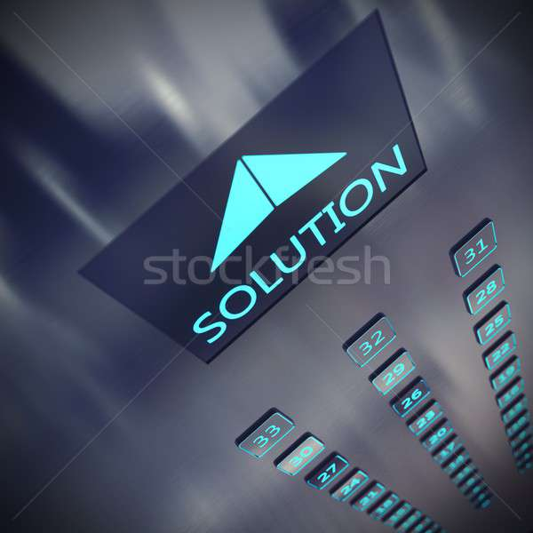 Solution elevator Stock photo © alphaspirit