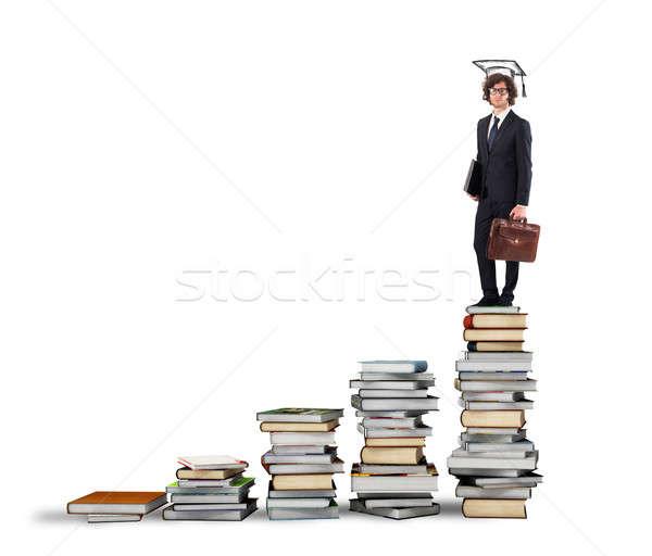Path of undergraduate studies Stock photo © alphaspirit