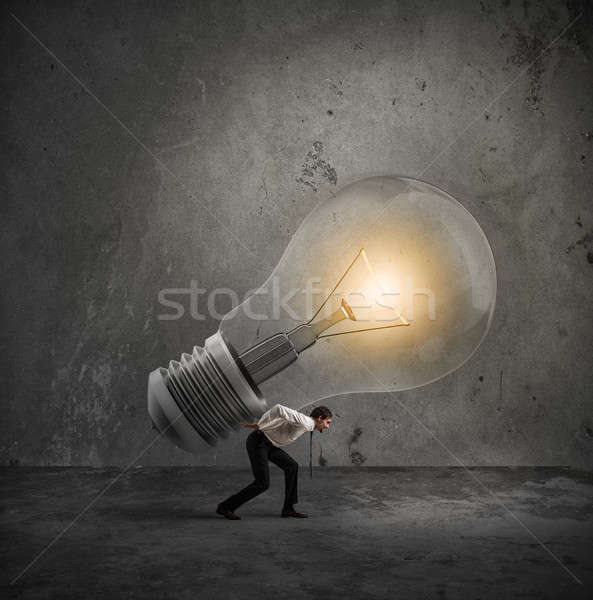 Have a great idea to be realized Stock photo © alphaspirit