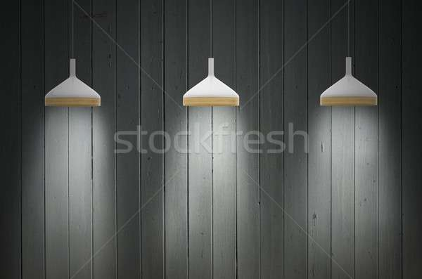 Light of lamps Stock photo © alphaspirit