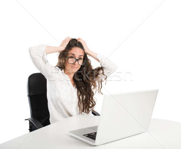 Stress in the office Stock photo © alphaspirit