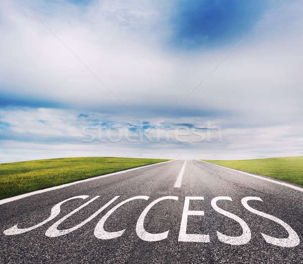 The way of success. Concept of successful and company startup Stock photo © alphaspirit