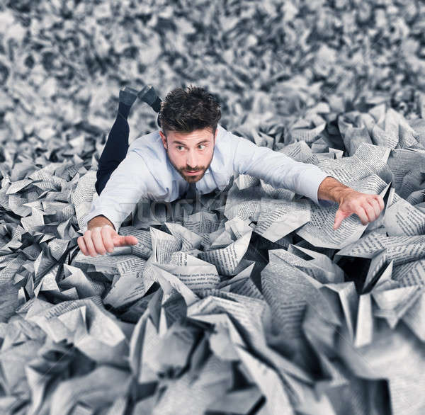 Trapped by bureaucracy Stock photo © alphaspirit