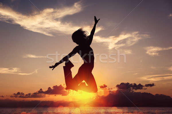 Freedom is happiness Stock photo © alphaspirit