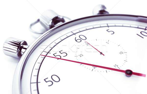 Stopwatch afbeelding business klok sport stress Stockfoto © alphaspirit