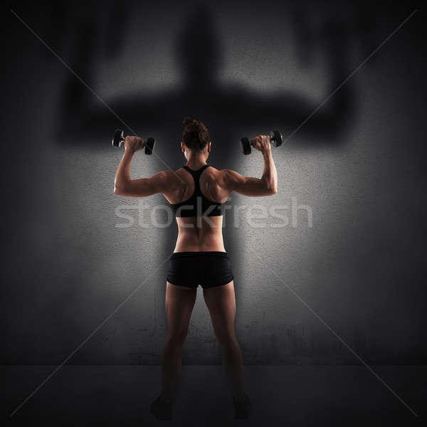 Strength and power Stock photo © alphaspirit