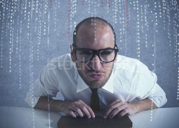 ソフトウェア プログラマ コンピュータソフトウェア コンピュータ オフィス 作業 ストックフォト © alphaspirit