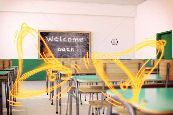 Welcome back to the school Stock photo © alphaspirit