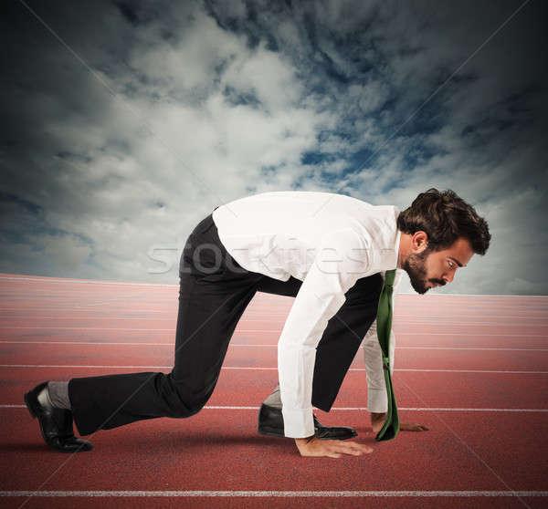 Start  race Stock photo © alphaspirit