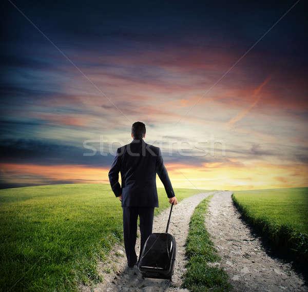 Business path Stock photo © alphaspirit