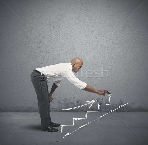 Career and business opportunity Stock photo © alphaspirit