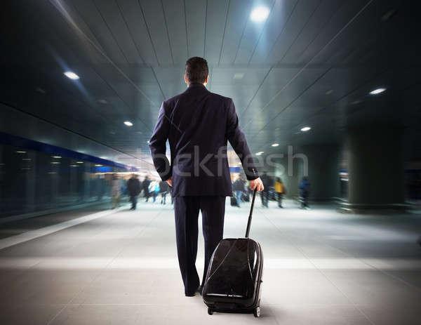 Job travel Stock photo © alphaspirit