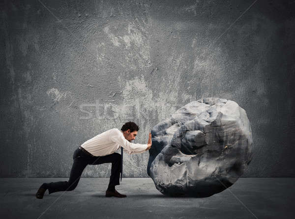 Difficult career with great effort Stock photo © alphaspirit