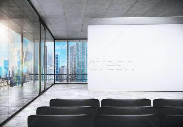 Meeting room Stock photo © alphaspirit