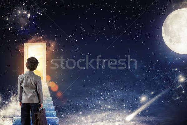 Begin a course for future life Stock photo © alphaspirit