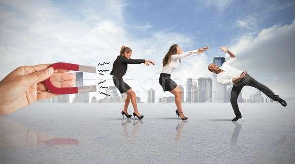 Foto stock: Pessoas · marketing · negócio · empresário · rede · comunicação