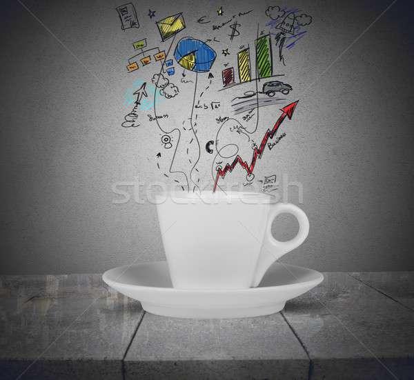 Coffee time Stock photo © alphaspirit